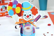 Anniversaire clown