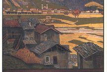 Poster Vintage Dolomiti