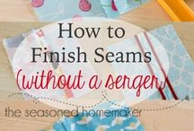 Tips 4 No-Serger Sewing