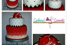 Custom Cakes / Stunningly Designed Cake Art Tailored to fit the Theme and Decor for Each Client!