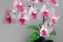 arreglos florales con medias