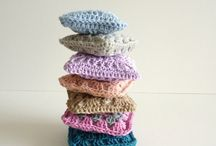 Crochet for the Home / Crochet baskets, crochet rugs, crochet garlands, crochet mug cozies, crochet jar cozies, and more!