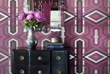 Colour of the year- Radiant Orchid / Here's some great ways to incorporate Pantone 2014 Colour of the year- Radiant Orchid- into your home!