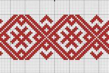 славянская вышивка