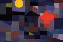 De store i kunsthist / Billeder af Klee, picasso..