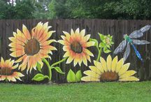 painted fence - the next spring project