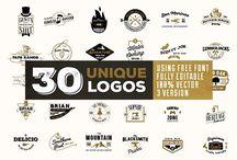 Vintage & Retro Logos for sale