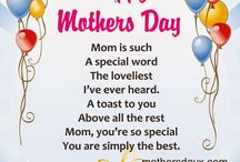Short poems and craft for Mother's Day