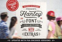 Premium Fonts for your creative adventures