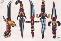 knives/dagger