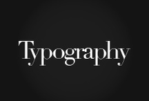 • Typography / typography, font, design / by Kutan Ural