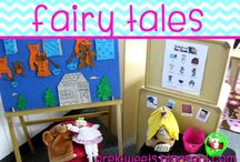 Fairy Tales / Center inspiration and math/literacy activities to help pre-k and kindergarten students learn about fairy tales and nursery rhymes.