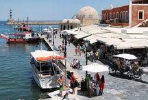 Creta -Chaniá ciudad / Chaniá es una de las ciudades más bonitas de Grecia. Es un placer pasear por su casco antiguo, el puerto veneciano, el mercado...para disfrutarla!