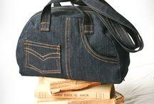 сумки джинсовые