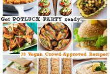 Vegan Potluck Party / by Brianne Hazekamp
