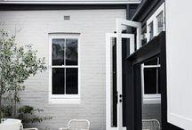 External house colour scheme