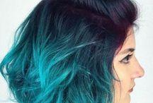 4 BLUE hair