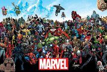 Marvel & DC comics / wanddecoratie met marvel & DC comics afbeeldingen