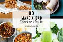 freezer meals / freezer meals, healthy, quick recipe, makes head meals,
