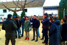 Fotos de la visita del Restaurante Al Solito Posto a la Bodegas F. Salado / El pasado 10 de febrero acudió de visita el Restaurante Al Solito Posto a las Bodegas F. Salado.