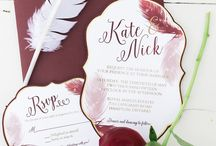 Wedding Invitations / Beautiful wedding invitation finds by Bare and Me❤️ Find all of our Collections at www.bareandme.com or love etsy? www.bareandme.etsy.com