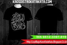 WA 0812-3397-819 (Telkomsel), Jual Kaos Oblong Jogja, Jual Kaos Oblong Polos Semarang, Jual Kaos