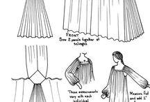 средневековые платья выкройки