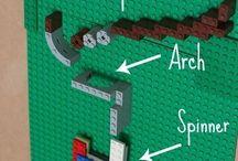 LEGO nástěnka