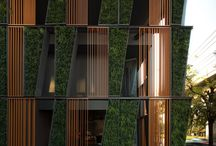 """_vertical green / """"The creation of a number of vertical forests in the city will be able to create a network of environmental corridors which will give life to the main parks in the city, bringing the green space of avenues and gardens and connecting various spaces of spontaneous vegetation growth,"""" Stefano Boeri Studio"""