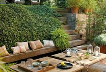 Terrazas, aticos, jardines