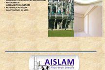 Catalogo: Servicios AISLAM / Servicios AISLAM