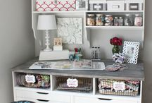 Craft organization & ikea hacks