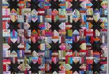 Quilts - scrappy / by Debby Timson