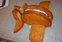 divers gâteaux
