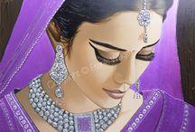 bridal drawing