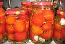 Заготовки томатов