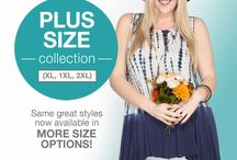 She + Sky Plus / Did you hear? She + Sky now carries Plus Size clothing! Visit our website to view our full collection.