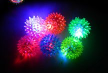 LED Hedgehog Ball / LED4Fun® | LED Products & LED Party Supplies Shop for awesome LED products online! LED party supplies, LED accessories, LED toys, LED ice cubes... All in LED4Fun! Let's enjoy the light! www.iLED4Fun.com