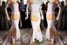 Polynesian dresses