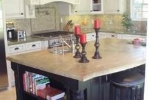 Kitchen Island & design / by Whitney Horiszny