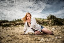 Norfolk Beach Portraits / Portrait photography done on the beach in Norfolk UK