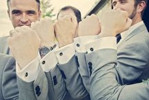 Groomsmen Unite / Your partner in crime has accepted your proposal. Now it's time to assemble the troops. Groomsmen unite: from boutonnieres to cuff links.