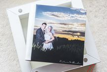 Parents' albums created by Jems Photography / Why not create a parents album for the parents, the books are scaled versions of your main wedding album.