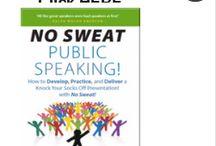 Lessen the Fear of Public Speaking!
