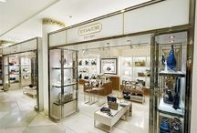 Display / Custom designed metal display and fixtures often used in the retail industry.