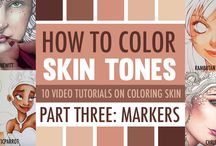 Creating skin tones
