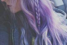 Purple hair*2018