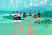 Explore With Zeal / by Kristen-Lee Morris
