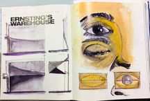 Calatrava's Sketches