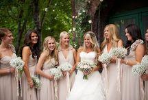Bouquet, Bridesmaids & Decs